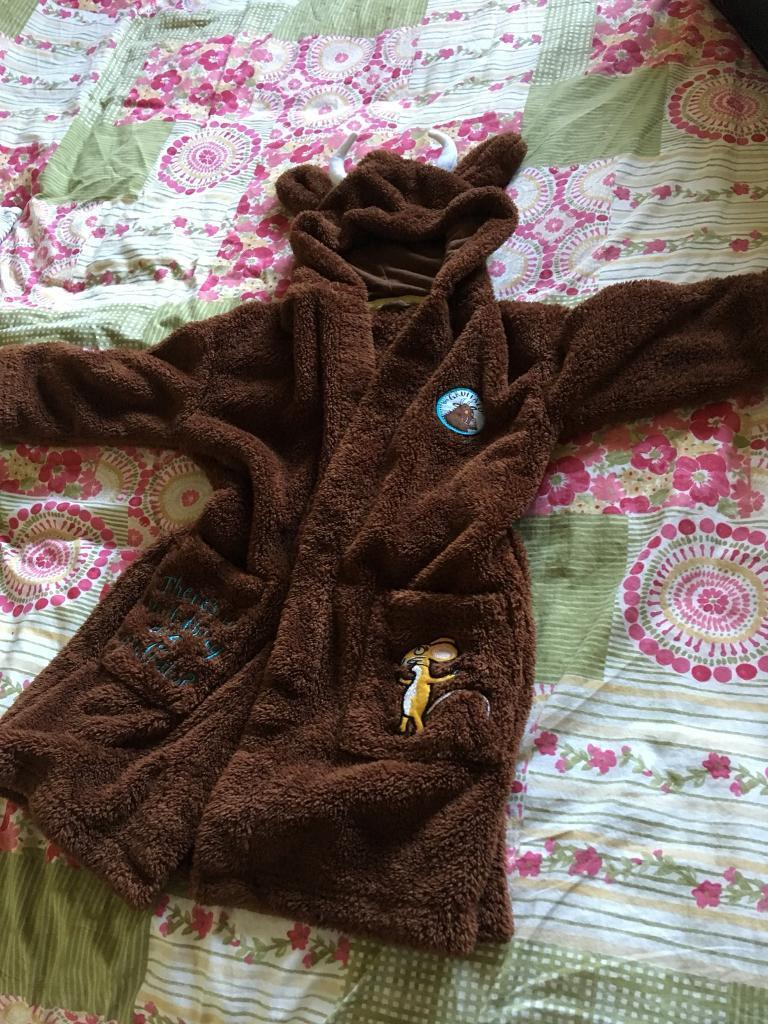 Gruffalo dressing gown age 3/4 years
