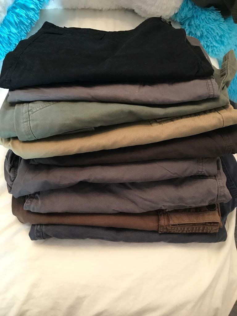 Bundle of men's clothes