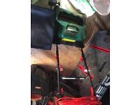 Qualcast Cylinder Electric Lawnmower 400w 12 months warranty left