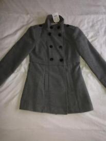 (Brand new) stylish duffle style light jacket
