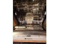 Integrated Dishwasher Hotpoint BFI 620 - for Spares Or Repair