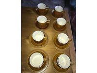 Hornsea pottery saffron vintage 1970s design various items