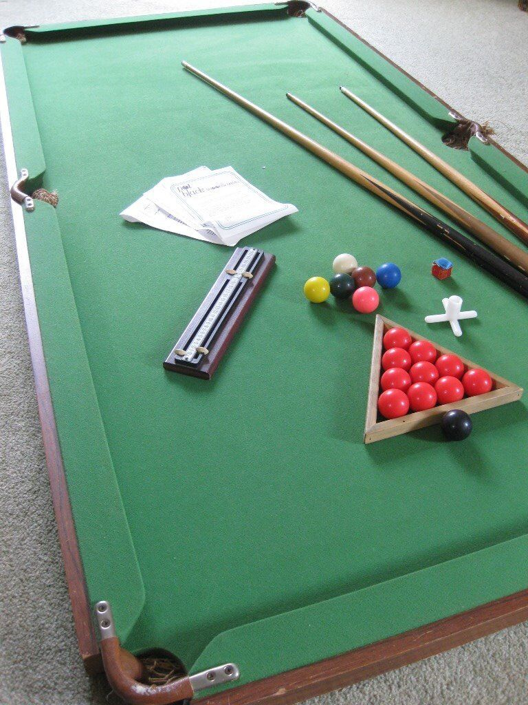 Pot Black Table Top Snooker Table Ft X Ft In Chester Cheshire - Black top pool table