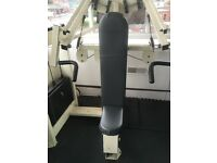 Heavy duty cybex overhead press