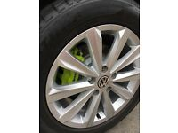 "Touareg 19"" alloy wheels"