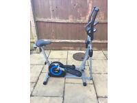 Pro fitness Cross trainer 2-in-1 bike