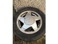 Renault 5 GT Turbo alloy wheels