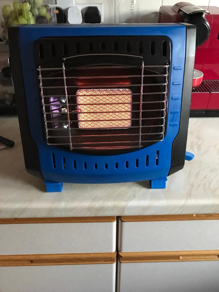 Camping fishing Gas fire, heater.Brand new only lit to test
