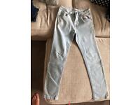 Two pair of girls skinny jeans age 12-13 years