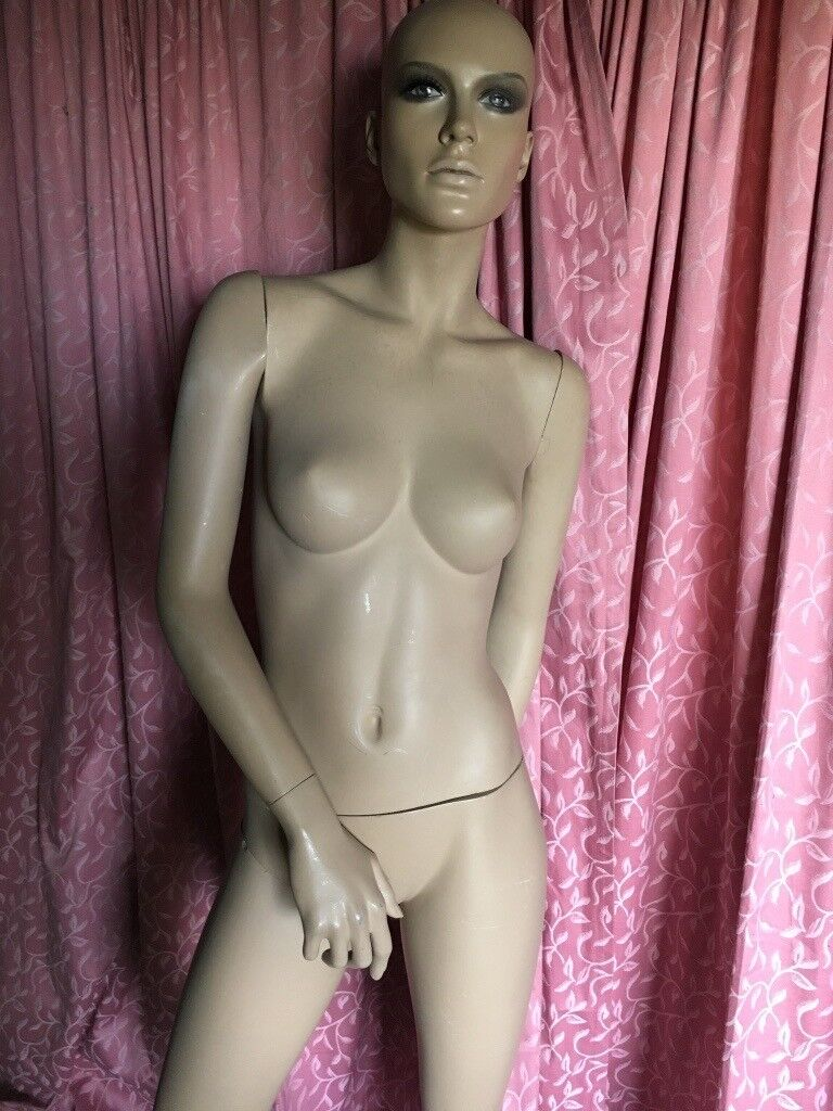 Full female mannequin with stand