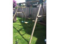 Plum Toys wooden swing set