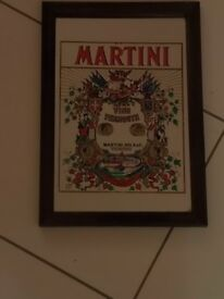 Martini Bar Mirror