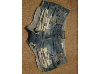Soul Cal & Co size 8 denim shorts