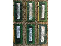 1GB DDR2 PC2 Laptop Memory RAM modules