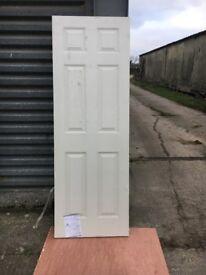 6ft6 x 2ft3 brand new unused door