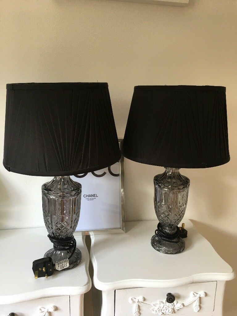 Glass Table Lamps For Sale In Knightswood Glasgow Gumtree