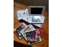 Nintendo 3DS XL pearl white