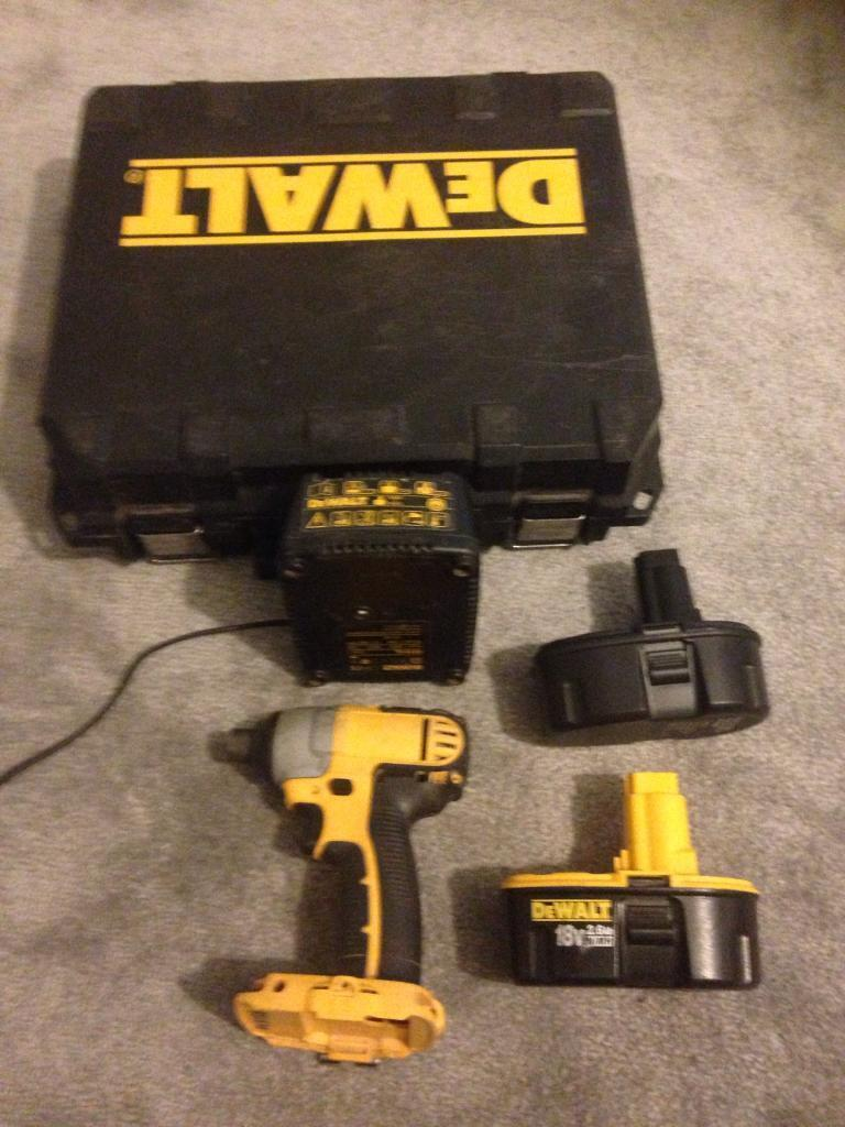 Dewalt DC825B Impact Driver. Very Powerfulin Paignton, DevonGumtree - Dewalt 18 Volt Impact Driver. Complete setup including Dewalt charger and two NIMH batterys which are an upgrade from NICAD. One Dewalt genuine 2.6 Ah battery and one brand new aftermarket mega powerful 3.0 Ah. The driver has an inbuilt LED light as...