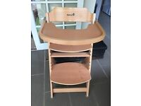 Safety 1st Timba Wooden High Chair