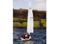 Topper Magno sailing dinghy for sale. Privately owned, good condition, 2004. Buyer collects