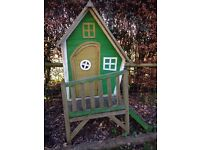 Quirky playhouse/ wendyhouse