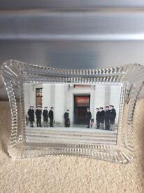wtaerford crystal photo frame
