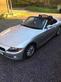 BMW Z4 2.0 SE ROADSTER 2005 IMMACULATE CONDITION FSH STUNNING CAR