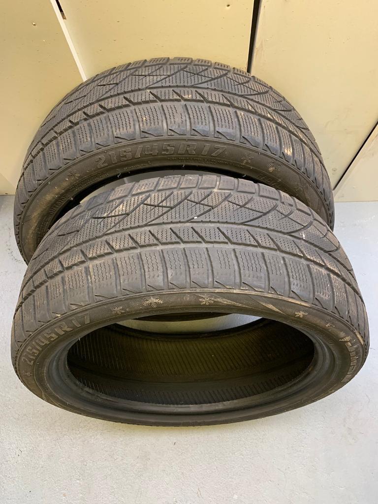 21545R17 Jinyu Winter Tyres x 2 | in