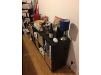 Chest of six drawers + Shelving unit in perfect condition (Perfect for a bedroom in a flatshare)