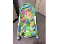 Fisher Price Discover & glow bouncer