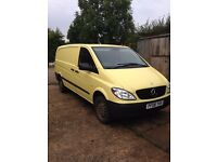 Mercedes Vito 2008 the non rusting model. Very well cared for Always used genuine parts. 2 owner van