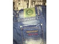 NEW DSQUARED 2 JEANS SIZE: 32/33waist 34Leg , not- moncler stone island cp gucci polo jacket