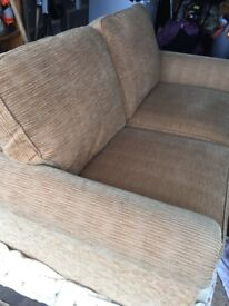 2 seater sofa bed in excellent condition