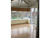 One bedroom flat to rent garden/conservatory, including utility bills, council tax and water rates