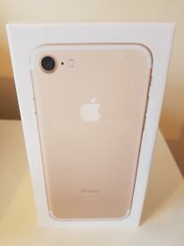 Brand new sealed iPhone 7 - 32gb Gold