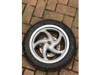 Gilera runner old shape wheel