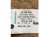2 x The Stone Roses Tickets Belfast
