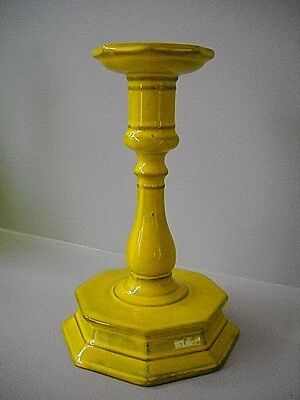 Vintage MID CENTURY PV ITALY ART POTTERY CANDLE STICK HOLDER