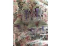 Tommee tippee anti colic bottles plus others