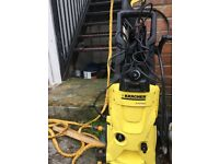 K4 pressure washer used