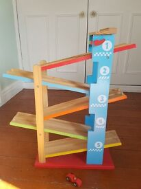 Childs Wooden car ramp