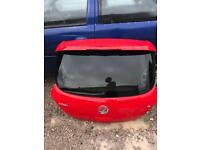 Corsa limited edition boot lid