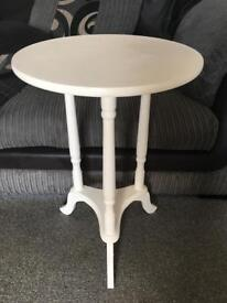 White side table. QUICK SALE