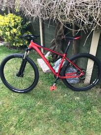 "Boardman Team 29er Mountain Bike Medium 18"" Frame Barely Used"
