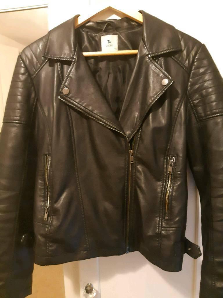 7d579464b Ladies biker jacket size 14 from TU | in Southsea, Hampshire | Gumtree