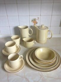 Poole pottery dinner service