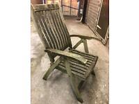 Wooden Garden Deck Chairs