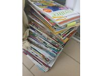 Various craft magazines