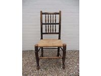 Vintage Rush Dining Chair or Occasional Chair