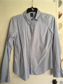 Two ladies fitted Shirts by Gap. Size 12